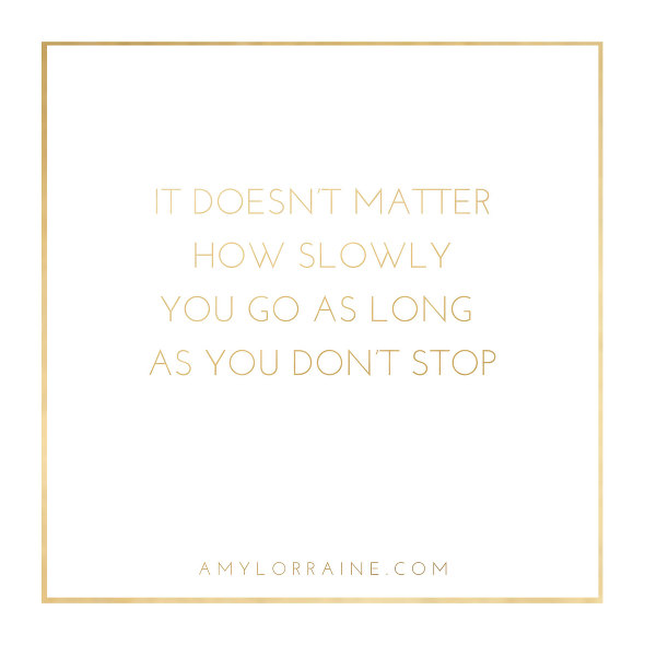 Motivational Monday Quote | www.amylorraine.com