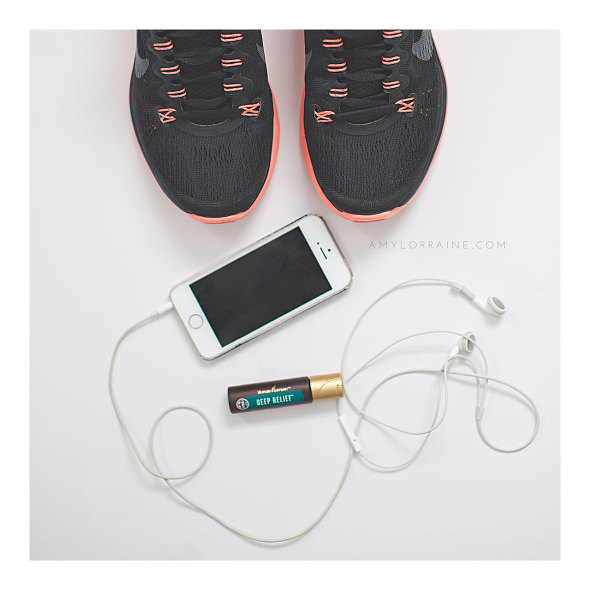 Three workout essentials : Cute Nikes, Bomb Playlist and Deep Relief | www.amylorraine.com