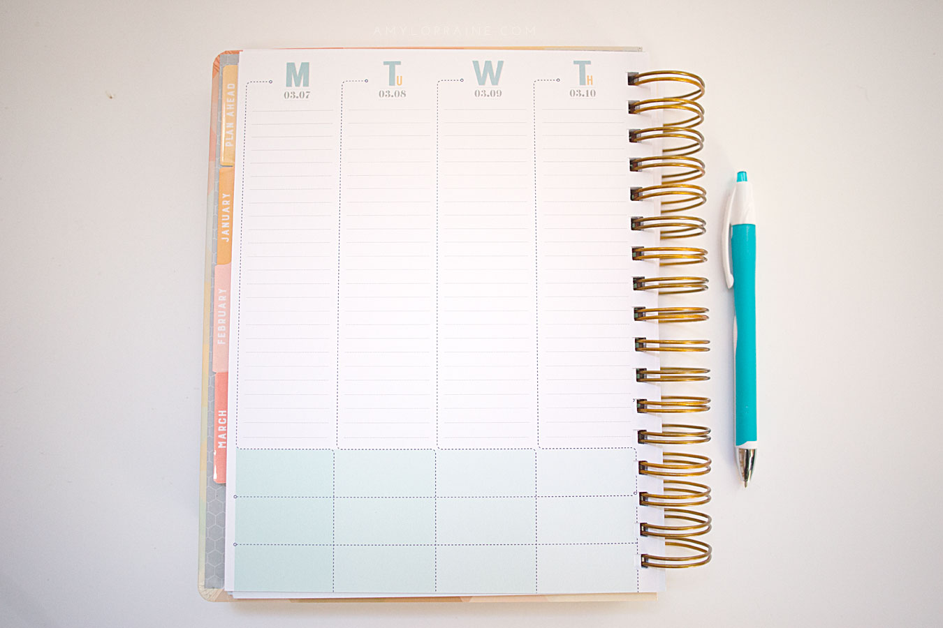 inkWELL Planner | Review + Coupon Code | www.amylorraine.com