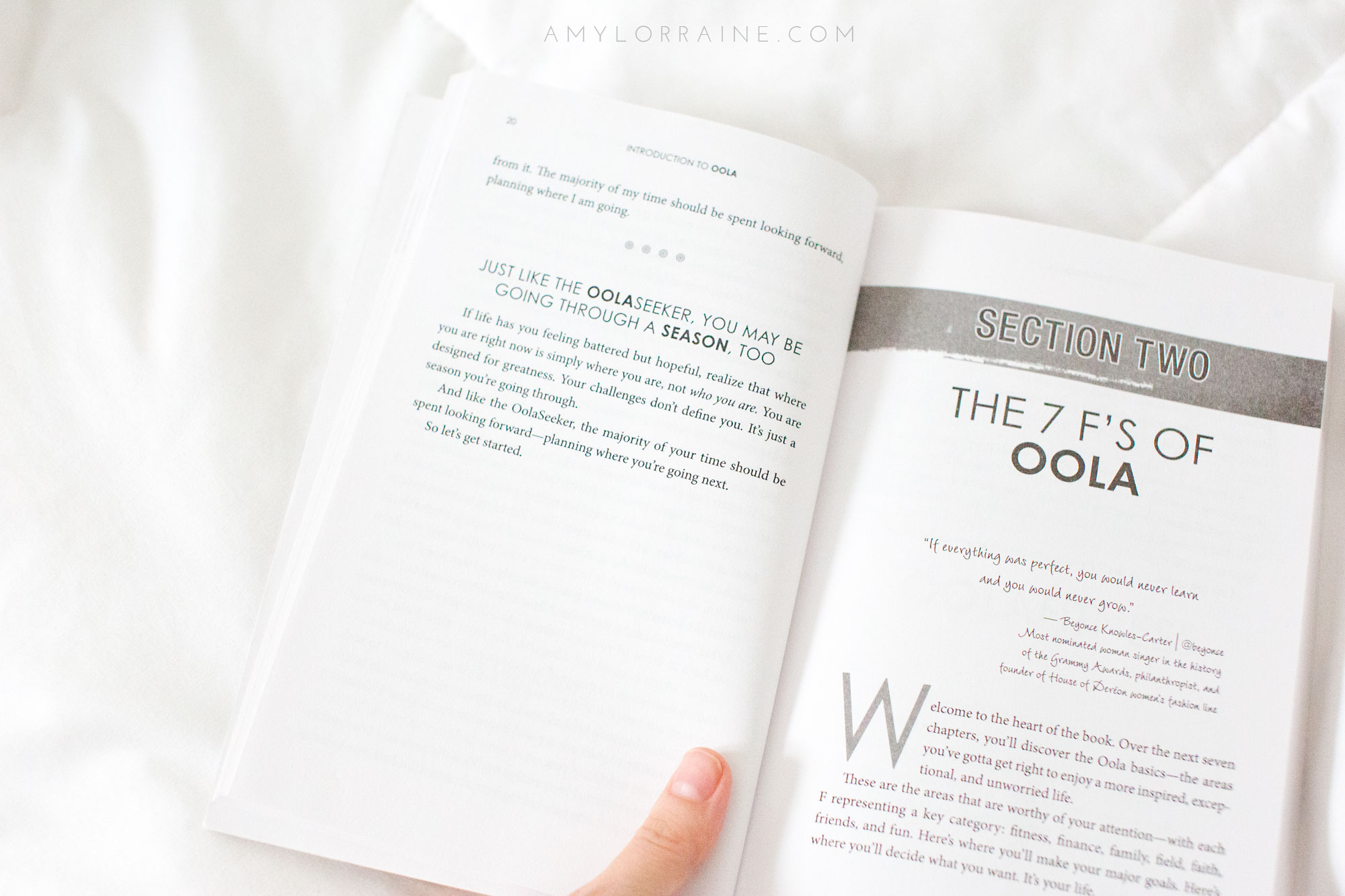 OOLA For Women | Book Review | www.amylorraine.com